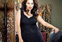 phụ nữ, béo, hấp dẫn, say mê, đàn ông