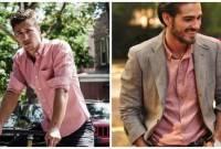 đàn ông , chuẩn men, diện, phong cách, thời trang, màu hồng