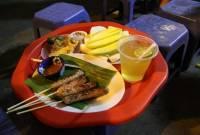 quán ngon, nem nướng, đồ ăn mùa đông, ăn vặt
