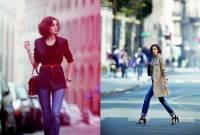gu thời trang, thanh lịch, phụ nữ Pháp, cổ điển, tinh tế