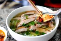 món ngon, ăn vặt, lò đúc, phở vịt quat, xôi cá rô đồng