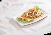 gỏi nấm bào ngư, salat nấm bao ngư,món ngon