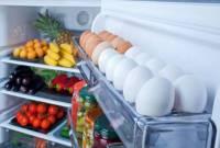 trứng để tủ lạnh, tác hại, cua so tinh yeu