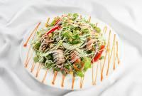 salad, món trộn, cá mòi, salad cá mòi, cua so tinh yeu