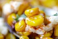 ngô, hạt ngô, món xào, cua so tinh yeu