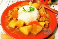 Món ngon từ gà, cách nấu cari gà, cách nấu cari gà ngon, Cách làm cơm cari gà, cơm cari gà, cách làm cari gà, cua so tinh yeu