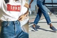 thời trang, phối đồ, sneaker với jeans, cua so tinh yeu