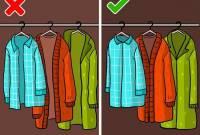 bảo quản quần áo đúng cách, gấp quần áo, mẹo vặt, mẹo vặt hay, treo quần áo, cua so tinh yeu