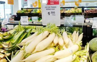 chiến dịch giải cứu, củ cải trắng, chợ rau củ, nông sản Việt, cua so tinh yeu