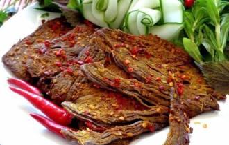 cách làm thịt bò khô, thịt bò, Thịt bò khô, ướp thịt bò khô, cua so tinh yeu