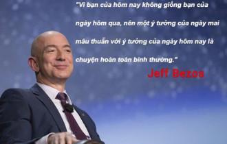 người thông minh, bước nhảy vọt, đối thủ cạnh tranh, tỷ phú giàu nhất thế giới, chiến lược sản phẩm, ông chủ amazon, Jeff Bezos , cua so tinh yeu