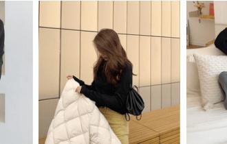 Mặc đồ đẹp, Xu hướng thời trang 2019, Thời trang mùa lạnh, Áo len cổ tim, Áo đen, Áo len bẻ cổ, cua so tinh yeu