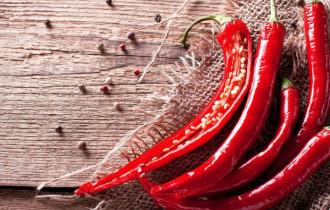 Lợi ích sức khỏe, các món ăn cay, ớt, hạt tiêu