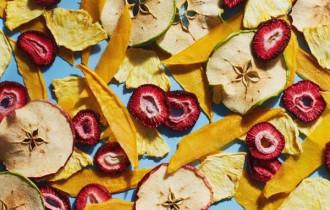 lợi ích của vỏ trái cây, món ăn vặt từ trái cây, trái cây