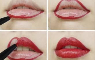 Cách vẽ viền môi cho các kiểu môi khác nhau