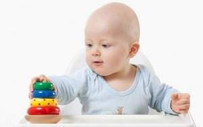 Sự phát triển, trẻ 11 tháng tuổi, kĩ năng vận động, vận động tinh, vận động thô, biết đứng, Ngôn ngữ, Khả năng giao tiếp, bắt chước, khả năng thích ứng, biết cách chơi với đồ vật