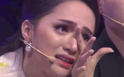 Hương Giang, bật khóc, trên truyền hình, cửa sổ tình yêu.
