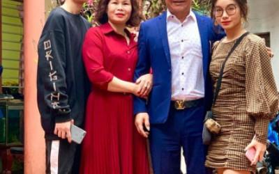 """Diễn viên Quang Tèo: """"Vợ chồng tôi cưới nhau 13 năm mới có con"""""""