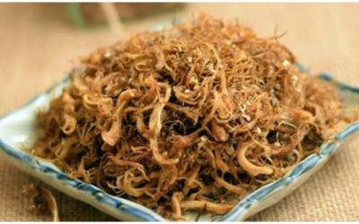 Cách làm ruốc chay từ chân nấm hương ăn hoài không ngán