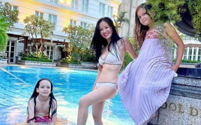 Diva Hồng Nhung ăn kiêng, tuổi 51 vẫn thu hút bạn trai Tây vì body đẹp mơn mởn