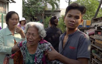 Cháy nhà 6 người chết ở Thủ Đức, mẹ già ngã quỵ: 'Trời ơi 6 đứa'