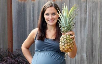 Phụ nữ mang thai không nên ăn nhiều dứa