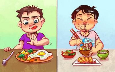 Cách cha mẹ Nhật giúp con không chán ăn