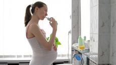 thai 5 tháng, nhổ răng, ảnh hưởng, kamydazol, partamol, lansoprazol, an toàn, cuasotinhyeu