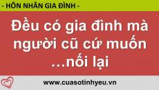 Đều có gia đình mà người cũ cứ muốn nối lại - CGTL Nguyễn Thị Mùi