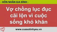 Vợ chồng lục đục cãi lộn vì cuộc sống khó khăn - CGTL Đinh Đoàn