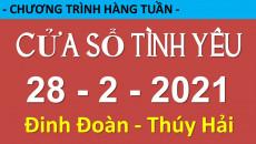 Nghe lại Cửa Sổ Tình Yêu mới nhất 28-2-2021 - 19006802