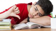 học kém, chán nản, cuối cấp, cha mẹ kỳ vọng, buông xuôi, sợ thi kém