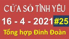 Nghe Cửa Sổ Tình Yêu hôm nay 16-04-2021