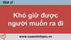Khó giữ được người muốn ra đi - Nguyễn Thị Mùi
