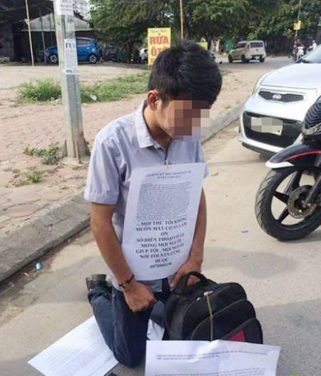 Chàng trai sinh năm 1991 quỳ gối vì tuyệt vọng không giữ được bạn gái