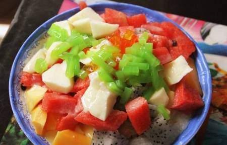 Pingpang hoa quả.