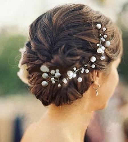 cô dâu, cưới, trang trí mái tóc, cua so tinh yeu