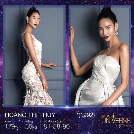 Hoàng Thùy, Hoa hậu Hoàn vũ Việt Nam 2017, người mẫu, cua so tinh yeu
