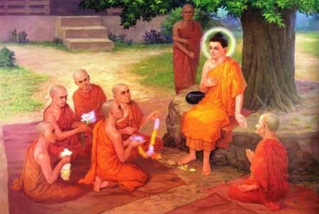 Đức Phật, bài học cuộc sống, tâm trí, mất bình tĩnh, cua so tinh yeu