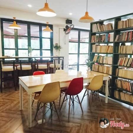 ẩm thực, quán ngon, cafe sách, cua so tinh yeu