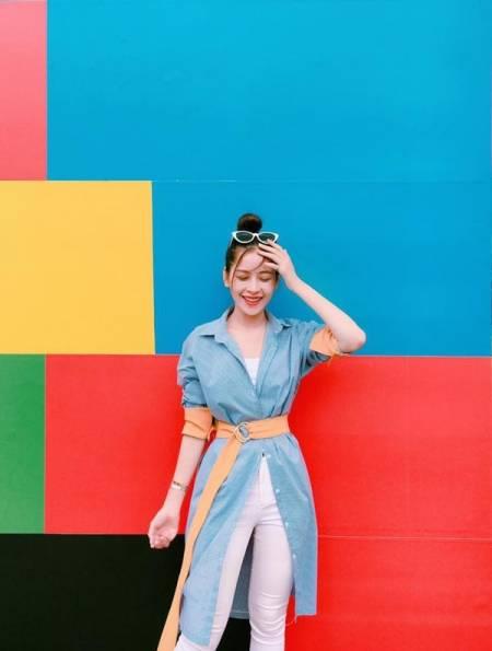 thời trang, áo sơ mi, biến tấu áo sơ mi, cua so tinh yeu