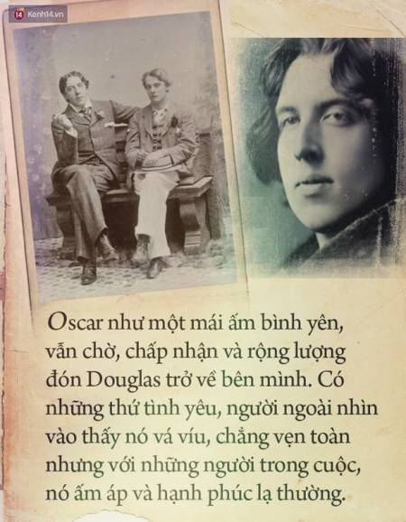 đồng tính, Oscar Wilde, tình yêu đồng tính, LGBT, nhà văn Oscar Wilde, lá thư tình, cua so tinh yeu
