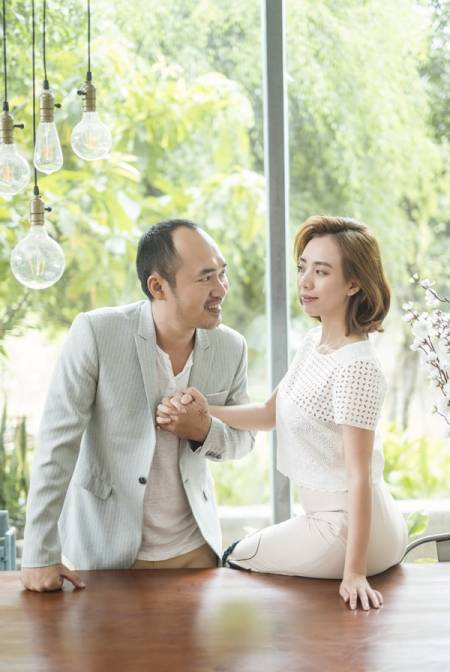Thu Trang, Tiến Luật, diễn viên hài, Chí Phèo ngoại truyện, cua so tinh yeu