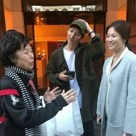 Song Hye Kyo, Song Joong Ki, lộ bụng bầu, đám cưới, cua so tinh yeu