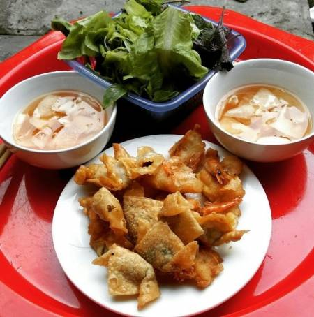 quán ngon, Đình Ngang, Hà Nội, cua so tinh yeu