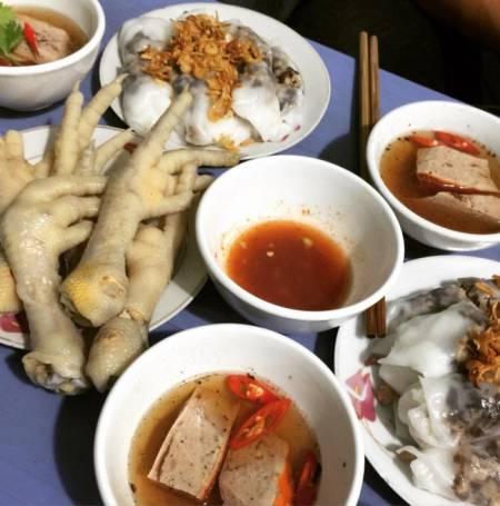 bánh cuốn, Hà Nội, quán đêm, cua so tinh yeu