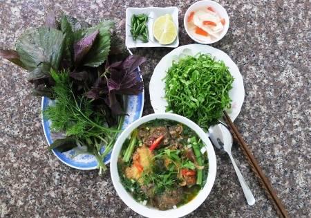 quán bún, Hà Nội, đông khách, cua so tinh yeu