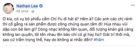 Chi Pu, lam trường, Chi Pu debut làm ca sĩ, Lam Trường bênh vực Chi Pu, ca sĩ, nathan lee, lynk lee, quế vân, sao Việt, showbiz Việt, Chi Pu hát live thảm họa, cua so tinh yeu