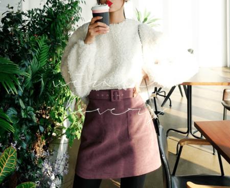thời trang thu đông, chân váy chuyên dụng cho mùa đông, váy dạ, váy len, váy da lộn, váy midi, cua so tinh yeu