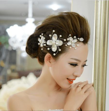 cưới, kiểu tóc cô dâu, mùa cưới 2017, cua so tinh yeu